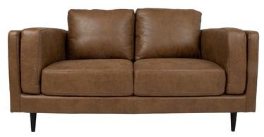 Dīvāns Home4you Lisbon 28537, brūna, 92 x 165 x 89 cm