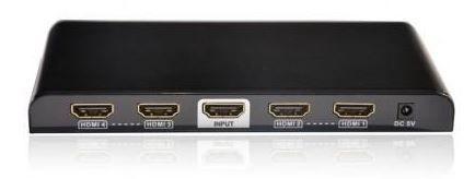 Videosignaali jagaja (Splitter) Techly Audio / Video Splitter HDMI x 4