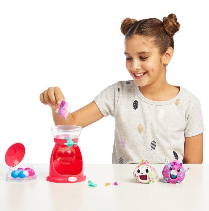 Moose Pikmi Pops Bubble Drops Squeeze Ball Maker