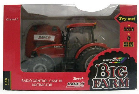 Tomy Britains Big Farm Tractor IH140 R/C