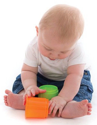 Playgro Shape Sorting & Stacking Buckets 6384153
