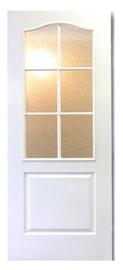 Vidaus durų varčia Monte Karmena, balta, 203x82.5 cm