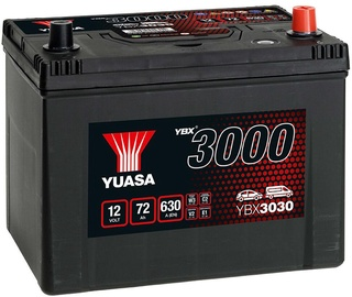 Аккумулятор Yuasa YBX3030, 12 В, 72 Ач, 630 а