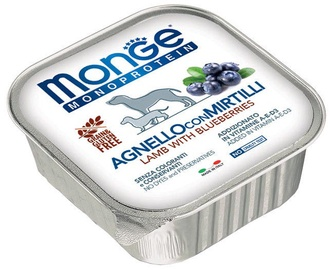 Monge Monoproteinic Fruits Pate Lamb/Blueberries 150g