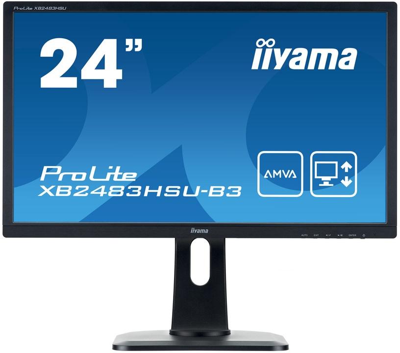 Monitorius Iiyama XB2483HSU-B3
