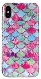 Mocco Trendy Back Case For Apple iPhone XS Max Fish Scales