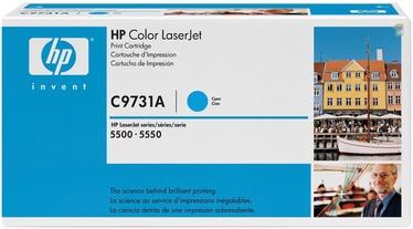 Lazerinio spausdintuvo kasetė HP LaserJet C9731A CYAN
