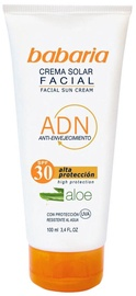 Babaria Aloe Vera Facial Sun Cream SPF30 100ml
