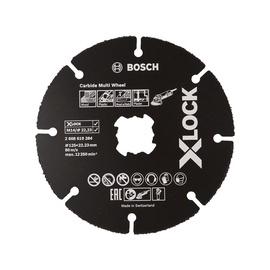 Pjovimo diskas medžiui Carbide BOSCH X-LOCK 125x1mm