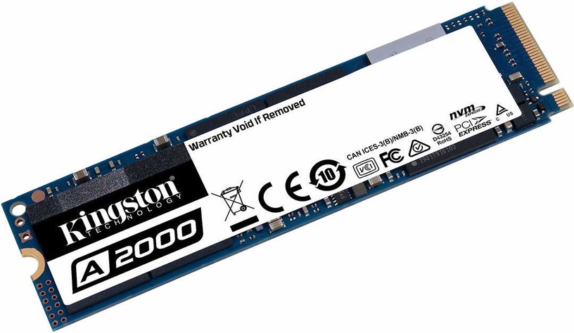 Kingston SA2000M8 500GB M.2 NVME