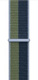 Ремешки Apple 41mm Abyss Blue/Moss Green Sport Loop - Regular, синий/зеленый
