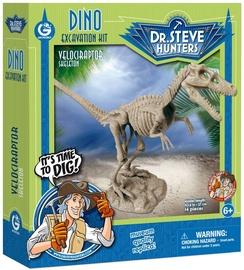 Geoworld Dino Dig Excavation Kit Velociraptor Skeleton CL1664K