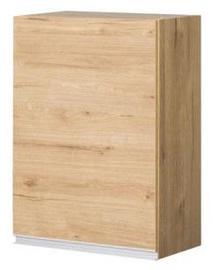Верхний кухонный шкаф Bodzio Monia 50 Left Brown, 500x310x720 мм