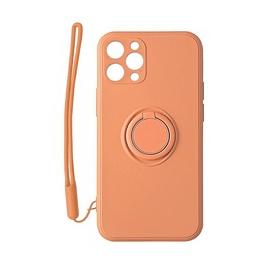 Чехол Mocco Pastel Ring For Xiaomi Mi 10T 5G, oранжевый