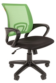Офисный стул Chairman 696, черный/зеленый