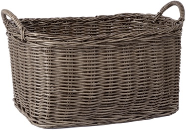 Home4you Basket Ruby-2 52x42x28cm Brown