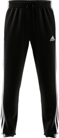 Adidas Essentials Tapered Elastic Cuff 3 Stripes Pant GK8829 Black 2XL