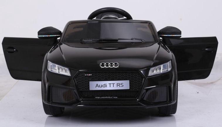 Akumuliatorinė mašina Audi TT RS Black WDJE1198