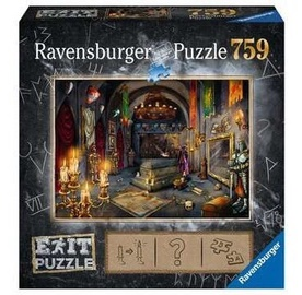 Пазл Ravensburger Exit In the Vampire Castle, 759 шт.