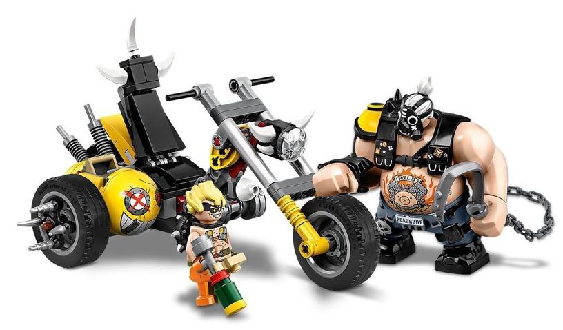 Konstruktorius LEGO® Overwatch 75977 Junkrat ir Roadhog