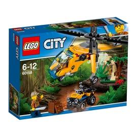 Konstruktor LEGO City, Džungli kaubahelikopter 60158