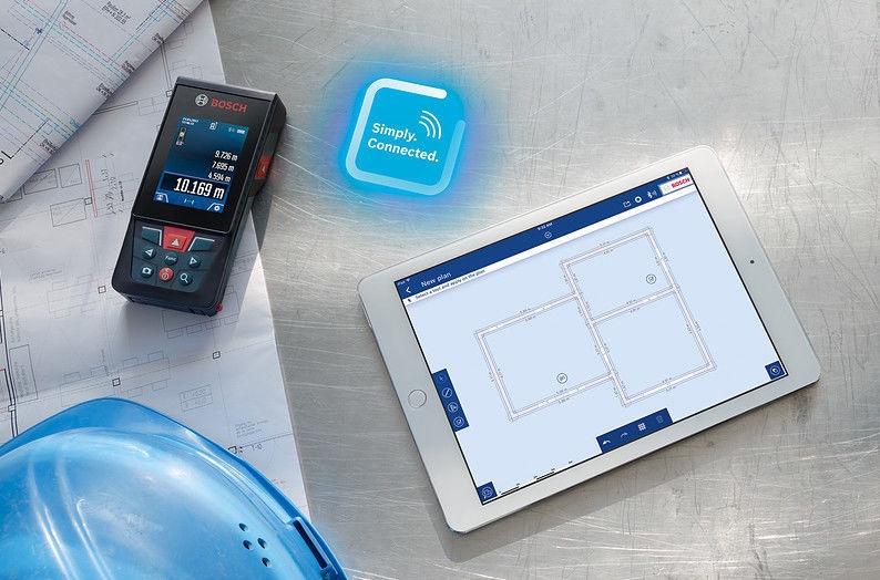 Измеритель Bosch GLM 120 C Laser Measure