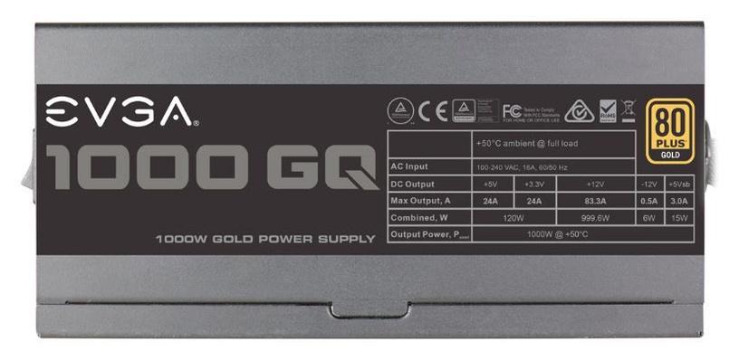 EVGA Power Supply PSU 1000W 80+ Gold