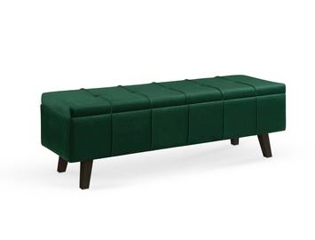 Pufs Halmar Massimo, zaļa, 130 cm x 40 cm x 44 cm