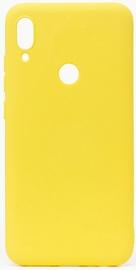Evelatus Soft Back Case For Xiaomi Redmi Note 7 Yellow