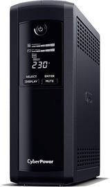Стабилизатор напряжения UPS Cyber Power Value Pro VP1200EILCD, 720 Вт