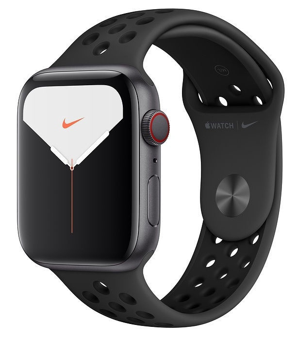 Apple Watch Nike Series 5 44mm GPS Space Gray Aluminum Case with Anthracite Black Band Cellular
