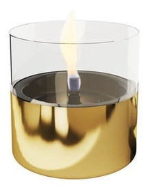 TenderFlame Table Burner Lilly 10cm Gold
