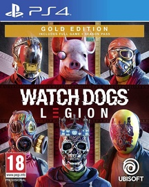 Watch Dogs Legion Gold Edition incl. Season Pass PS4