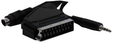 Gembird Cable Scart / Video+Audio 5m Black