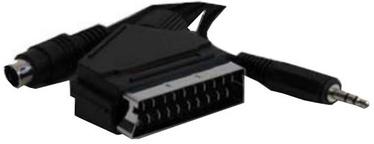 Gembird Cable Scart / Video+Audio 5m Black