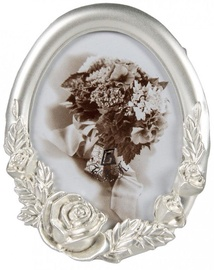 Poldom Photo Frame 5x8cm Romantic Silver
