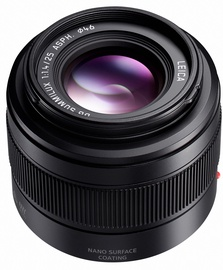 Panasonic Leica DG Summilux 25mm F1.4 II ASPH. Lens Black