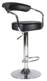 Home4you Leon Bar Stool Black