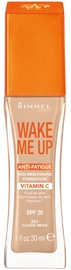 Rimmel London Wake Me Up Foundation 30ml 201