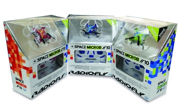 Žaislinis dronas Radiofly Space Microb 10 40013