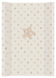 Ceba Baby Hard Changing Mat Short Stars Beige