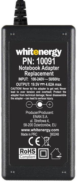Whitenergy AC Notebook Power Adapter 4.5x3.0mm 90W