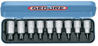 "Gedore Screwdriver Bit Socket Set ITX 19 PM 1/2"" 9pcs"