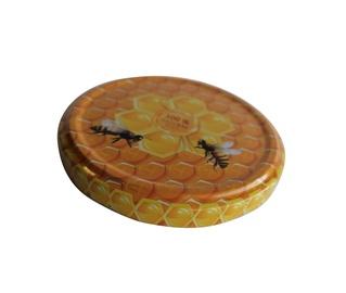 Vāks burkas 82mm skrūvējams medus