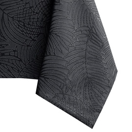 Скатерть AmeliaHome Gaia HMD Dark Grey, 155x500 см