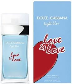 Parfüümid Dolce & Gabbana Light Blue Love Is Love For Women 50ml EDT