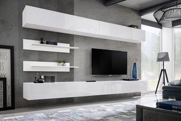ASM Fly I Living Room Wall Unit Set White