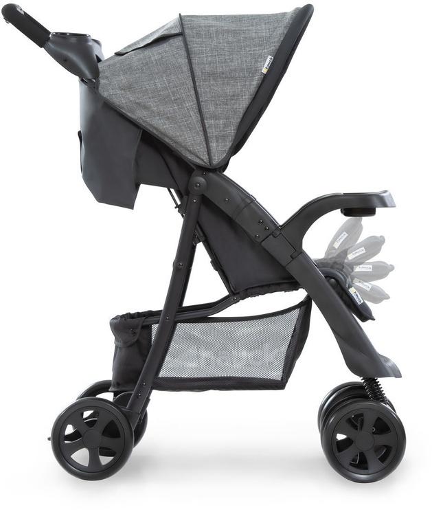 Sportinis vežimėlis Hauck Shopper Neo II Grey/Charcoal