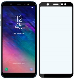 Mocco Full Glue 5D Screen Protector Full Coveraged For Samsung Galaxy A8 Plus A730 Black