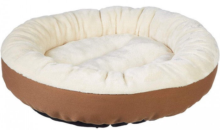 Vangloo UA-1023 Dog Bed 50x50x20cm Creamy Brown